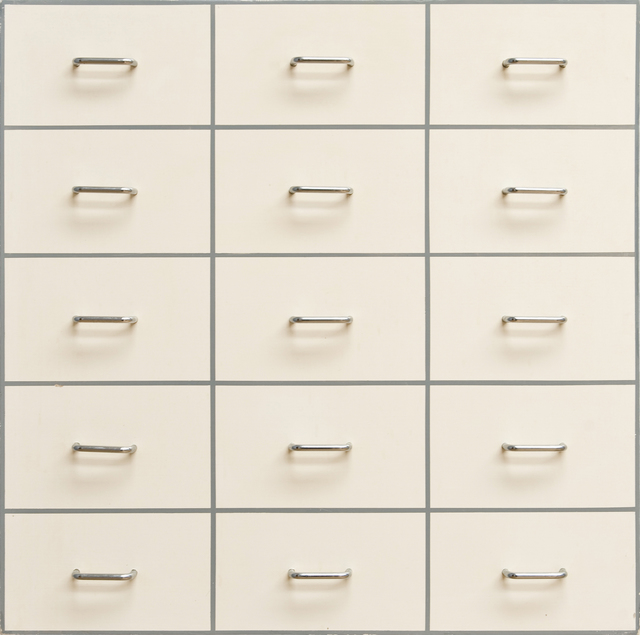 , 'Fifteen Drawer Pulls,' 1966, Bernard Jacobson Gallery
