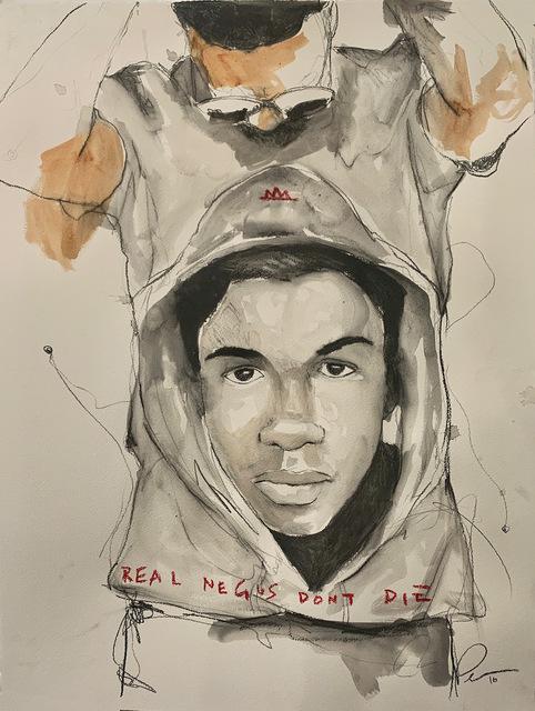 , 'REAL NEGUS DON'T DIE: Sixteen (Trayvon Martin),' 2019, Lyons Wier Gallery