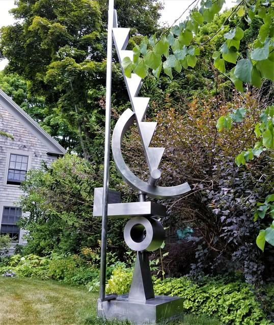 Fletcher Benton, 'Steel Watercolor-A Fountain', 1997, Sculpture, Stainless Steel, Clarke Gallery