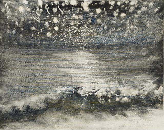 , 'Stars and Sea at Night V,' 2015, Marlborough London
