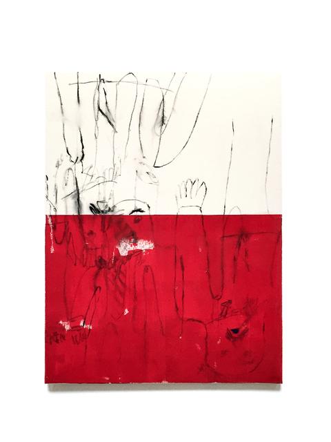 , 'Commuter (Red Plane),' 2015, Galleri Jacob Bjørn