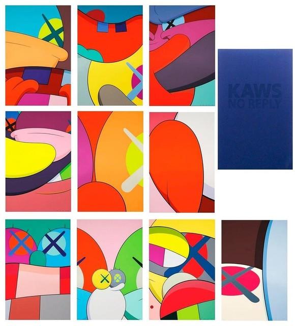 KAWS, 'No Reply (portfolio of 10 works)', 2015, Lougher Contemporary