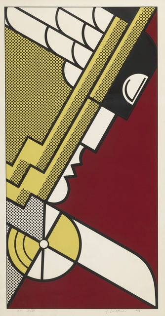 Roy Lichtenstein, 'Salute to Aviation (C. 63)', 1968, Sotheby's