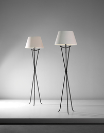 Pair of standard lamps