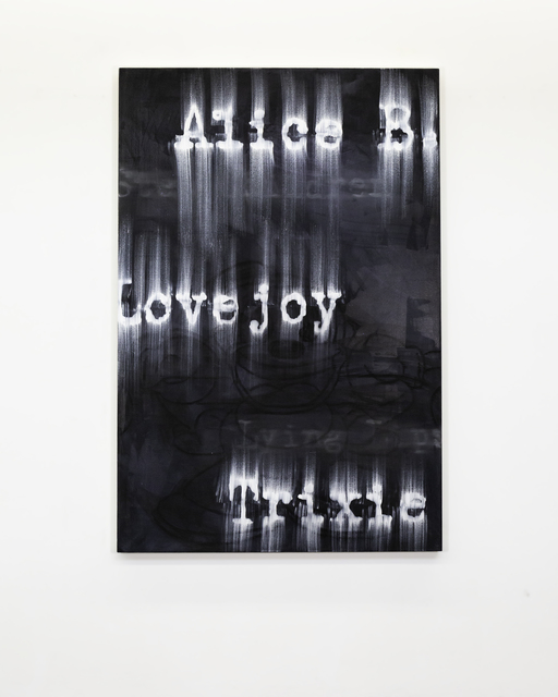 Gary Simmons, 'Lovejoy', 2018, Simon Lee Gallery