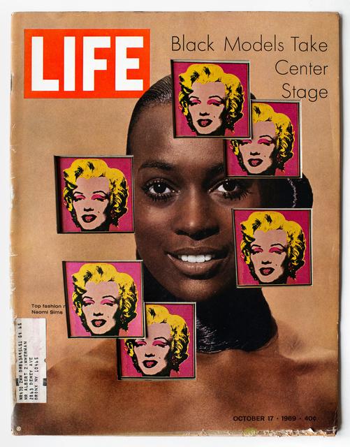 , 'LIFE Cutout No. 140 (October 17, 1969, Black Models Warhol),' 2018, Luis De Jesus Los Angeles