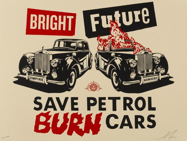 Shepard Fairey (OBEY), 'Bright Future', 2012, Forum Auctions