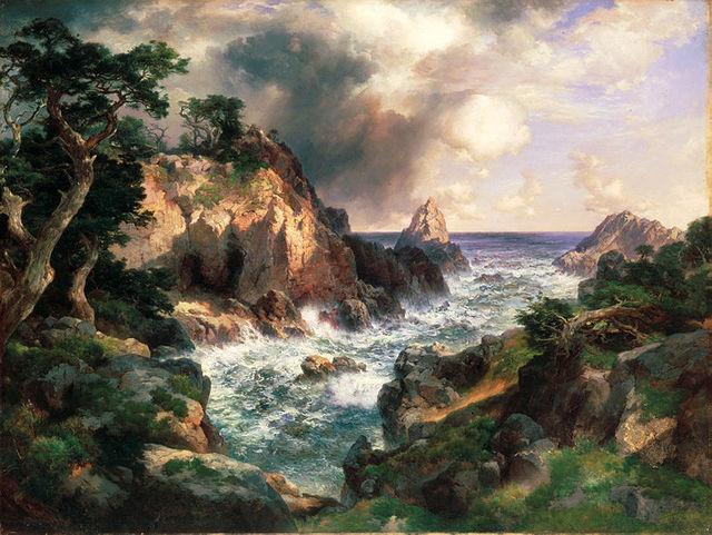 Thomas Moran, 'Point Lobos, Monterey, California', 1912, White House Historical Association
