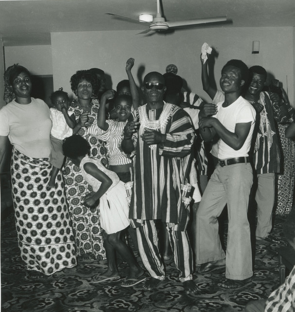 , 'Accra, around 1950. A party in the home of Mr Kotey (in the middle).,' 2017, Galerie Clémentine de la Féronnière
