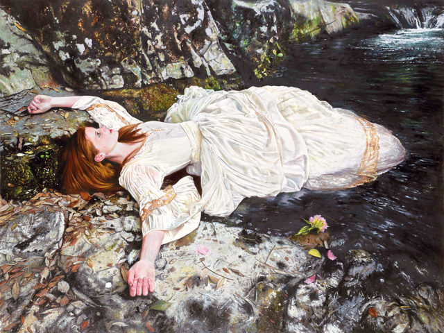 Andrew Kinsman, 'Lying In A Shallow Dream', 2015, Print, Stretched canvas, Castle Fine Art