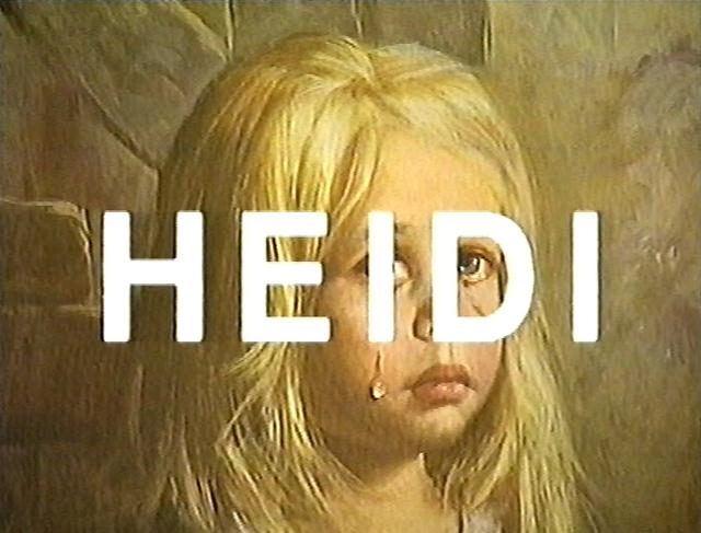 , 'Heidi,' 1992, Galerie Krinzinger