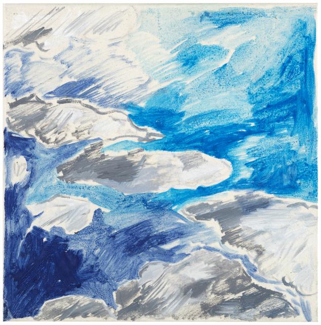 , 'Clouds (1),' 2018, Galerie Anhava
