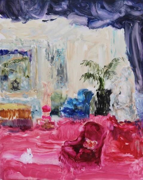 , 'Velvet (living room),' 2018, Bau-Xi Gallery