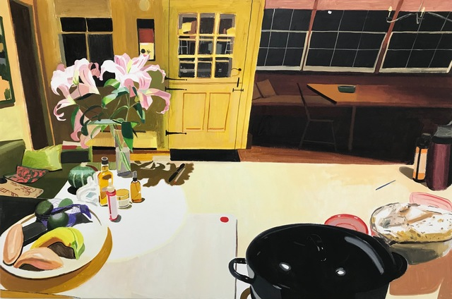 Chelsea Gibson, 'Bringing Dinner to Carla's', 2019, Lyons Wier Gallery
