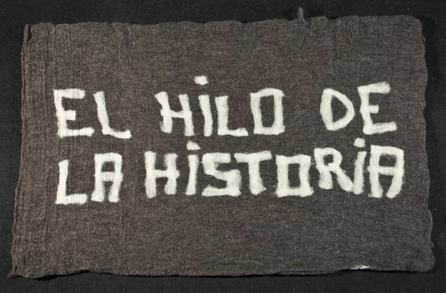 , 'El hilo de la historia,' 2012, Isabel Aninat