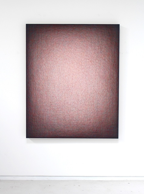 , 'insistent red curve #1463,' 2015, Hosfelt Gallery