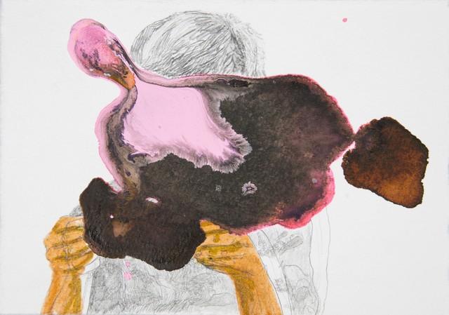 , 'La primera arma que te dan es la parte de un muerto, para que te acostumbres al olor a muerto.,' 2014, Y Gallery