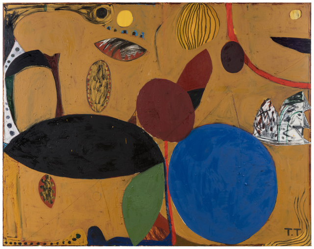 , 'Companion (Yellow Ochre),' 2016, Galerie Forsblom