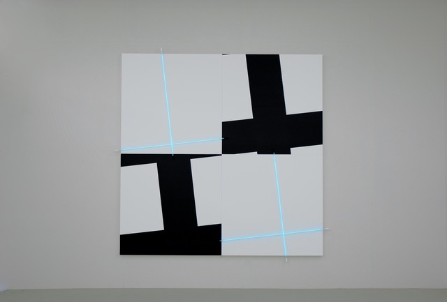, 'Deep dark, light, blue n°2,' 2008, kamel mennour