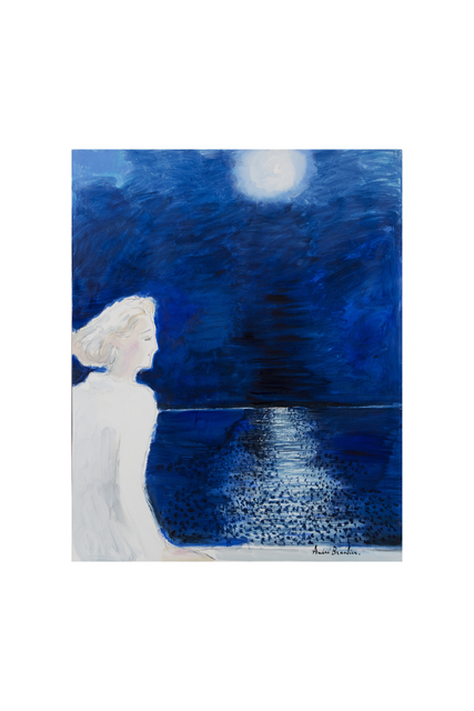 , 'La Nuit bleue,' 2017, Opera Gallery