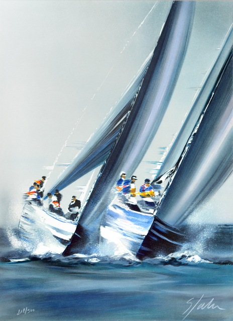 Victor Spahn, 'America's Cup - Valence', 2007, Art Lithographies