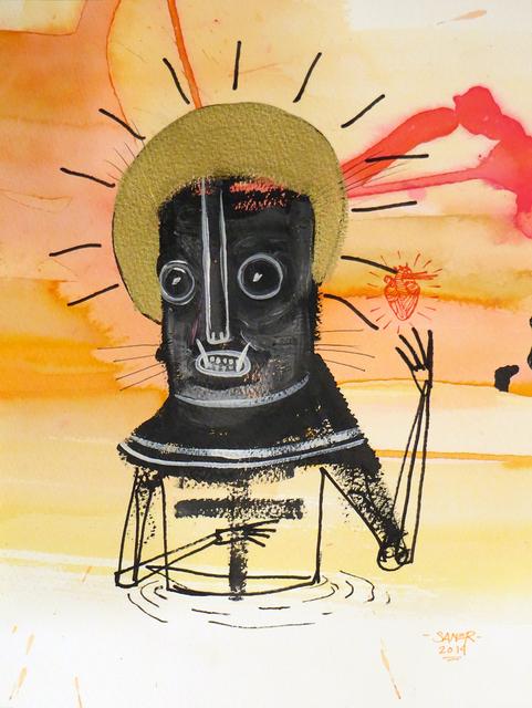 , 'The Saint,' 2014, Jonathan LeVine Projects