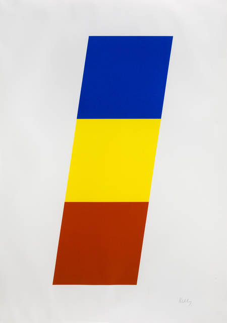 , 'Blue/Yellow/Red,' 1970, Susan Sheehan Gallery
