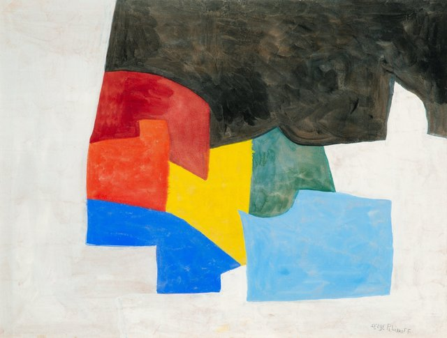 Serge Poliakoff, 'Composition abstraite', 1958, Heritage Auctions