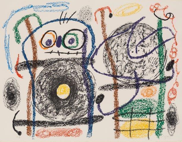 Joan Miró, 'Album 21 [Maeght 1126-1146]', 1978, Roseberys