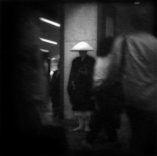 , 'Buddhist monk in Shinjuko Station, Tokyo, Japan,' 1993, Sous Les Etoiles Gallery