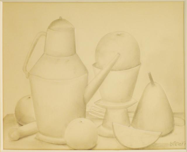 , 'Still life,' 1977, Studio Guastalla