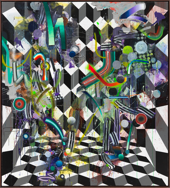 , 'Polygom,' 2017, Hans Alf Gallery