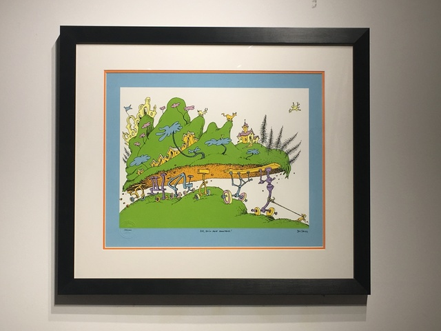 Dr. Seuss, 'Dr. Seuss - Kid, You'll Move Mountains', Oliver Cole Gallery