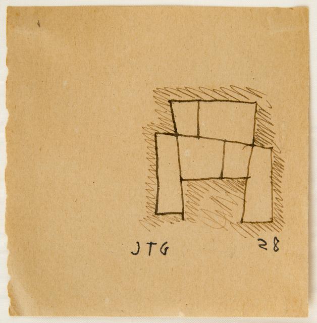 , 'Drawing for a monument,' 1928, Cecilia de Torres Ltd.