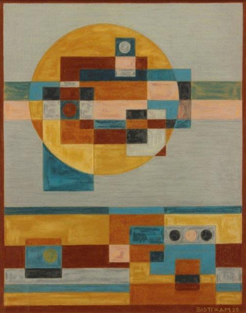 Emil Bisttram, 'Indian Symbols Abstraction', 1939, Addison Rowe Gallery