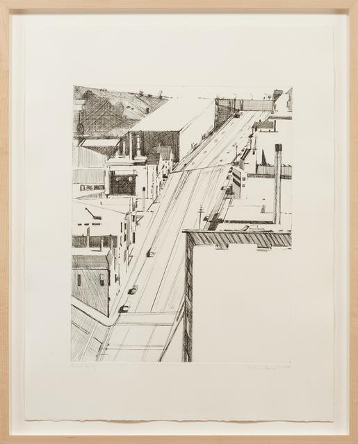 Wayne Thiebaud, 'Down 18th ', 1980, Paul Thiebaud Gallery