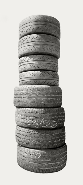 , 'Neighborhood Still Life #4 (Tires),' 2018, Hashimoto Contemporary