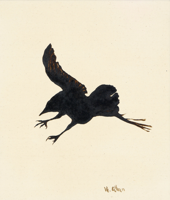 , 'Crow #15,' 2016, Anglim Gilbert Gallery