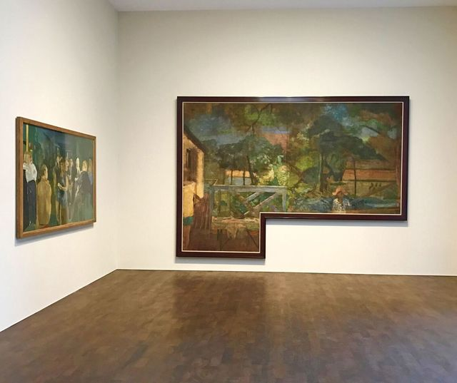 Michael Andrews, 'The Colony Room Landscape', 1958, James Hyman Gallery