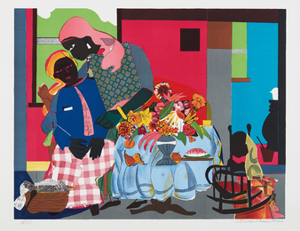 Romare Bearden, 'Morning,' 1979, Phillips: Evening and Day Editions (October 2016)