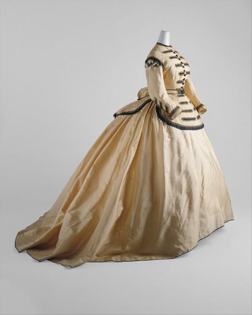 Unknown American, 'Dress', 1860–1865, The Metropolitan Museum of Art