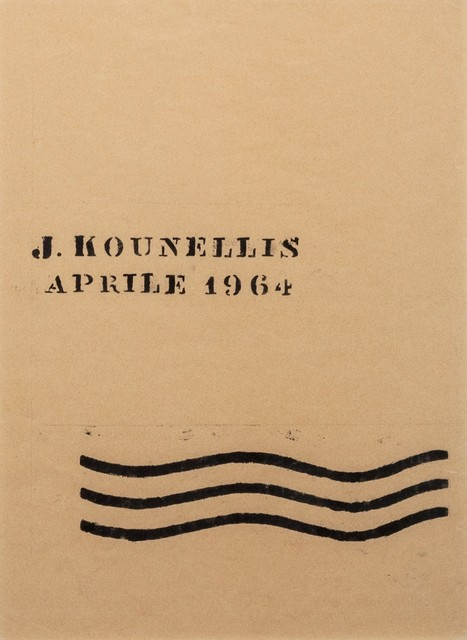 Jannis Kounellis, 'J. Kounellis Aprile 1964', 1964, Finarte
