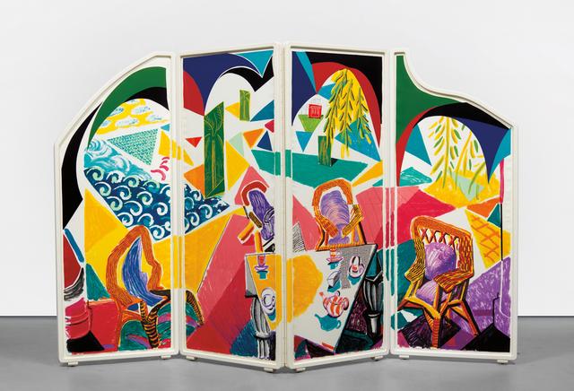 David Hockney, 'Caribbean Tea Time', 1987, Phillips