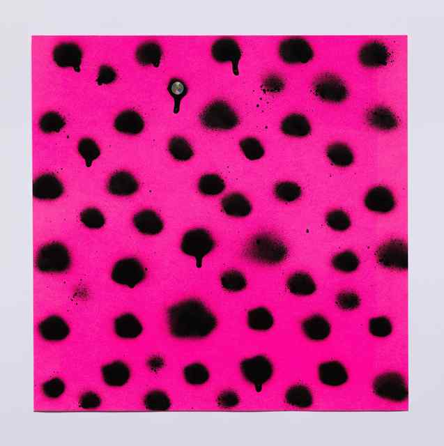, 'Untitled (Black Dots on Pink),' 2016, Jenkins Johnson Gallery