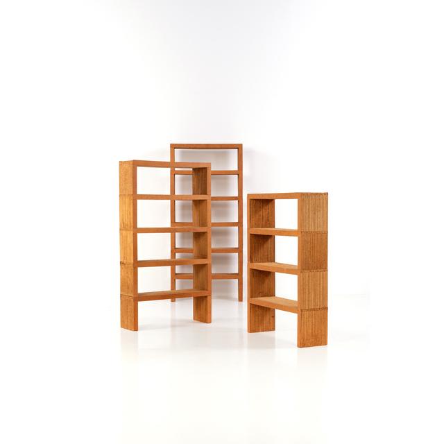 Frank Gehry, 'Set of three modular libraries', 1972, PIASA