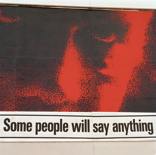 , 'Some People Will Say Anything, Olancha, California,' 1991, Robert Mann Gallery
