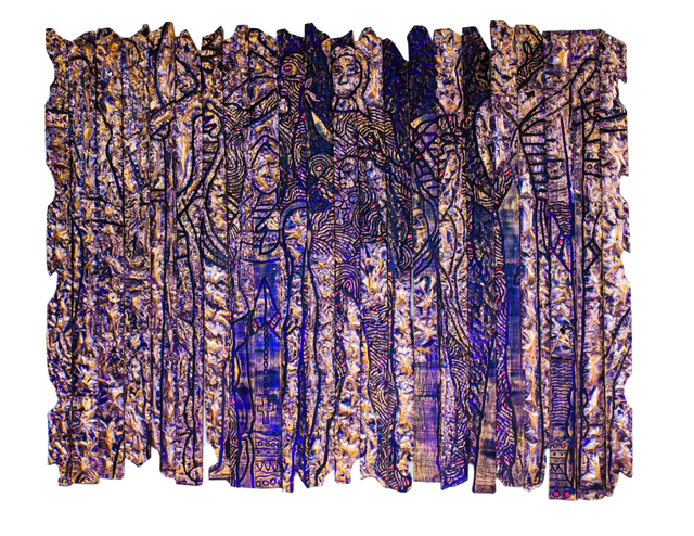 , 'Purple Prayer,' 2018, Kristin Hjellegjerde Gallery