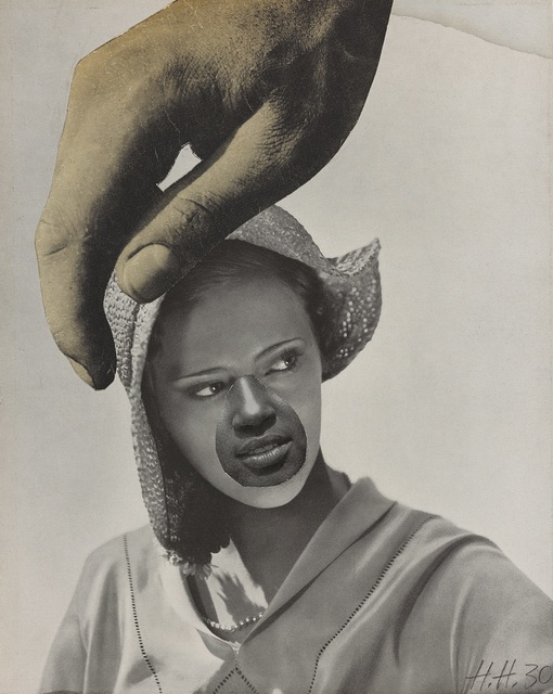 , 'Untitled (Large Hand Over Woman's Head),' 1930, Vancouver Art Gallery