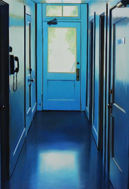 , 'Blue Door,' 2015, Sue Greenwood Fine Art