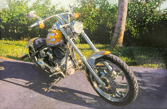 , 'Naples Custom Chopper,' 2009, Louis K. Meisel Gallery